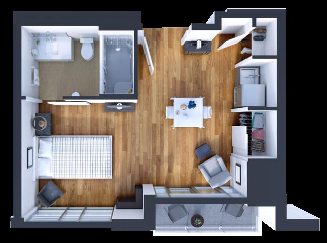 Retirement Studio Suite Model at SOPC