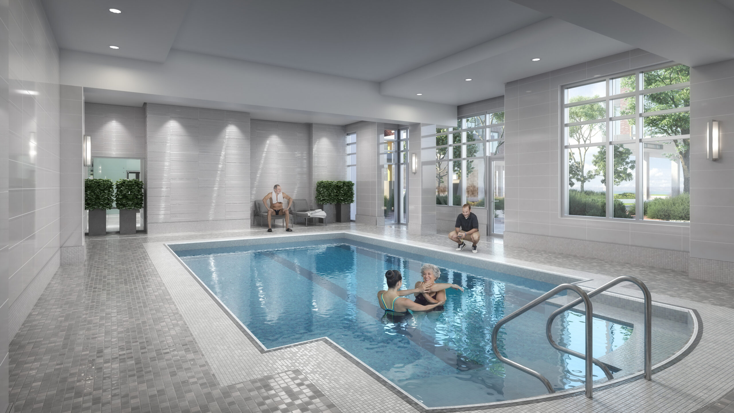 View of Apartment Pool